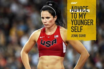 US pole vaulter Jenn Suhr  (AFP / Getty Images)