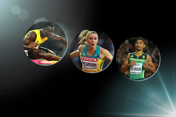 2017 World Athlete of the Year longlist nominees - sprints and hurdles (Getty Images)