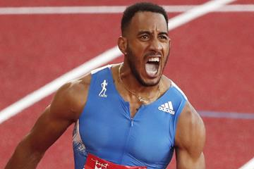 Orlando Ortega wins the 110m hurdles (Getty Images)