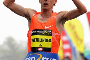 Gunther Weidlinger wins the 2009 Great Australian Run (Getty Images)