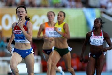 Easy run for Mariya Savinova in the 800m semis in Barcelona (Getty Images)