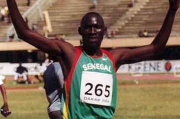 Senegalese Junior athlete Seith Mbow (Oumar Ba)