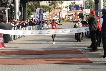 Kenneth Kiplagat Limo wins the Mersin Marathon (Organisers)
