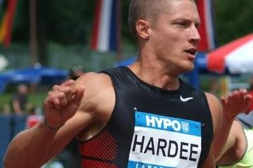 Trey Hardee in action on day one in Gotzis (Lorenzo Sampaolo)