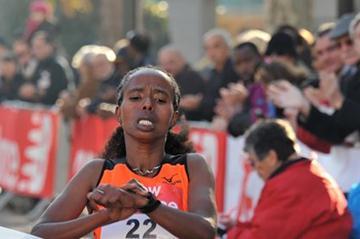 Goitetom Haftu Tesema wins the Boulogne-Billancourt Half-Marathon (ResultatPhoto.com)