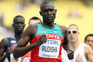 David Rudisha wins his first round 800m heat in Daegu (Getty Images)