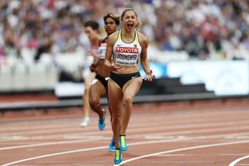 Gina Luckenkemper in the 100m IAAF World Championships London 2017 (Getty Images)