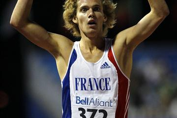 Kevin Mayer of France wins the Decathlon (Getty Images)