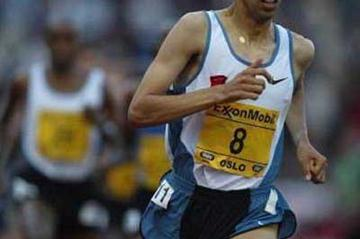 Hicham El Guerrouj running in Oslo (Getty Images)