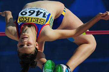 Ligia Grozav - the new High Jump Youth champion  (Getty Images)