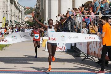 Peres Jepchirchir wins the Lisbon Half Marathon (Organisers)