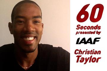 60 seconds with Christian Taylor (IAAF)