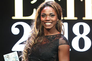 IAAF World Female Athlete of the Year Caterine Ibarguen (Giancarlo Colombo)
