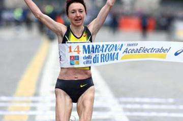 2:22:53 win for Galina Bogomolova in Rome (Giancarlo Colombo)