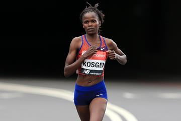 Kenyan distance runner Brigid Kosgei (Getty Images)