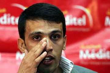 Hicham El Guerrouj makes his retirement announcement in Casablanca - 22 May (AFP / Getty Images)