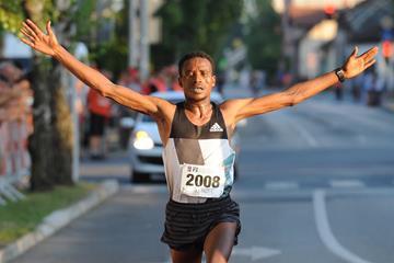 Tesfaye Ambesa Lencho winning in Brcko (Organisers)