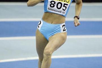 Jolanda Ceplak (SLO) - 800m heats (Getty Images)
