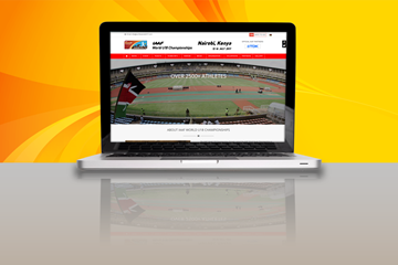 The LOC's website for the IAAF World U18 Championships Nairobi 2017 (IAAF)