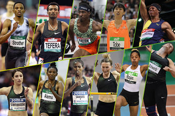 2019 IAAF World Indoor Tour winners ()