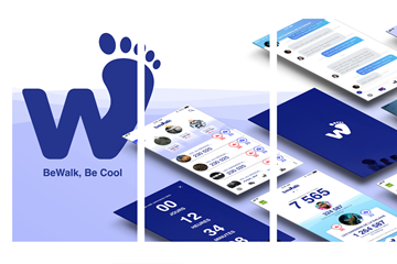 Be Walk logo (BeWalk)
