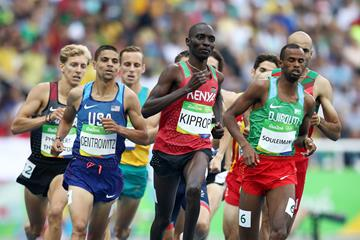 Asbel Kiprop in the 1500m at the Rio 2016 Olympic Games (Getty Images)