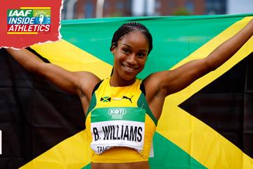 Jamaica's Briana Williams (Getty Images)