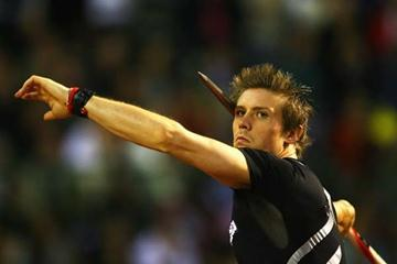 Andreas Thorkildsen of Norway competes in the Men's Javelin (Getty Images)