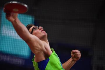 Slovenian discus thrower Kristjan Ceh (AFP / Getty Images)