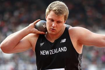 New Zealand's shot put star Jacko Gill (Getty Images)