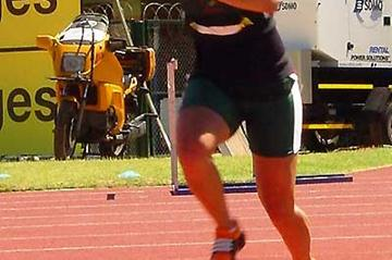 Justine Robbeson competes at the 2008 South African Champs (Mark Ouma)