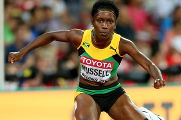 Janieve Russell of Jamaica at the IAAF World Championships Beijing 2015 (Getty Images)