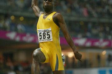Ignisious Gaisah in action in Paris 2003 (Getty Images)