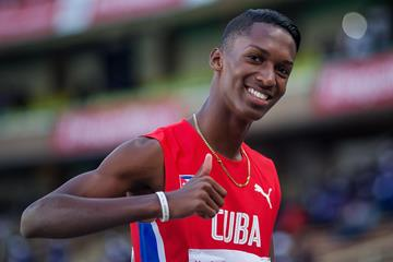 Cuban triple jumper Jordan Diaz (Getty Images)