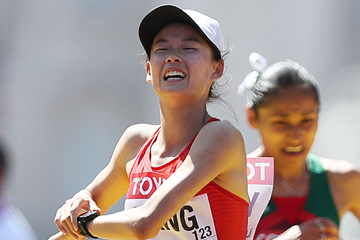 Chinese race walker Yang Jiayu (AFP / Getty Images)