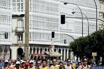 General view of the women's 20km - 2006 World Cup (Getty Images)