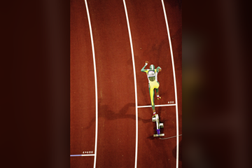 Cathy Freeman in the 400m at the Sydney 2000 Olympic Games (Getty Images)