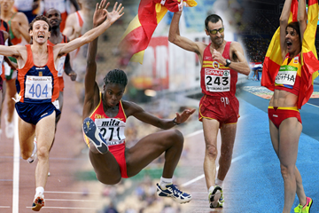 Spanish athletics legends (AFP / Getty Images)