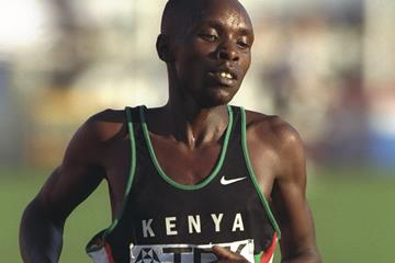 Bernard Barmasai at the 1997 IAAF World Championships (Getty Images)