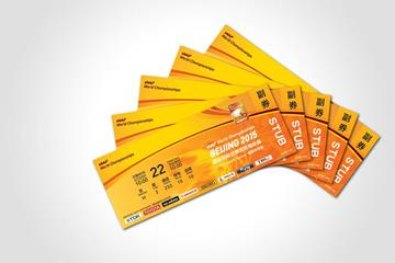 Tickets for the IAAF World Championships, Beijing 2015 (IAAF)
