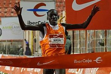 Moses Masai brings in the New Year with a victory in Madrid (organisers)