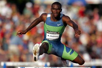 Kerron Clement  - 47.37 at USATF nationals (Getty Images)