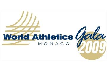 2009 World Athletics Gala Logo (IAAF.org)