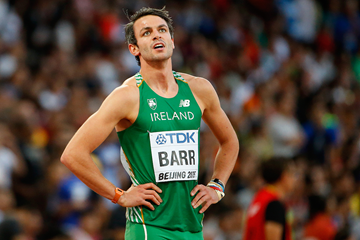 Irish 400m hurdler Thomas Barr at the IAAF World Championships Beijing 2015 (Getty Images)