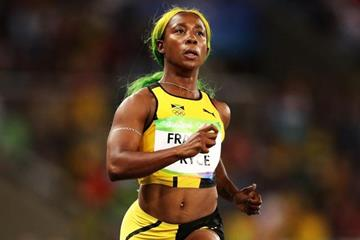 Shelly-Ann Fraser-Pryce in the 100m at the Rio 2016 Olympic Games (Getty Images)