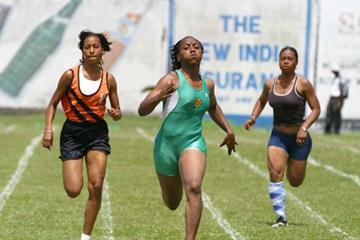 Junior sprinter Steina Fleming (British Virgin Islands) (Terry Finistere)