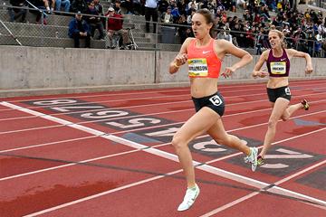 US middle-distance runner Alexa Efraimson (Randy Miyazaki)