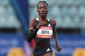 Bendere Oboya in the Sydney 400m (Getty Images)