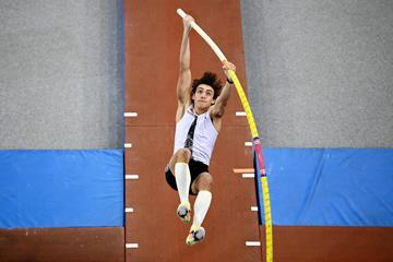 Swedish pole vaulter Mondo Duplantis (AFP / Getty Images)