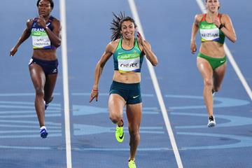 Vanessa Chefer of Brazil at the 2016 Olympic Games (Getty Images)